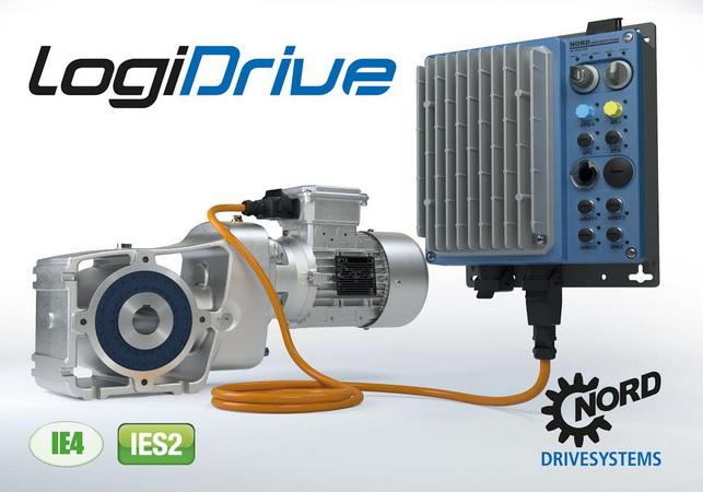 组装精简的高效驱动解决方案  - 诺德推出LogiDrive标准化交流矢量驱动器