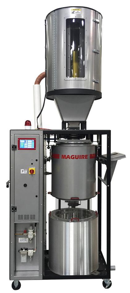 美锴推出VBD™ 300真空干燥机 - 干燥产能翻番的优势使得真空干燥机可被更广泛地应用于注塑和挤出领域