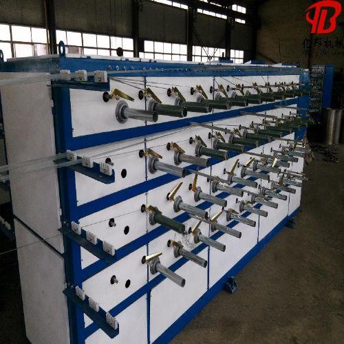遮阳网拉丝机,塑料拉丝机,扁丝拉丝生产线