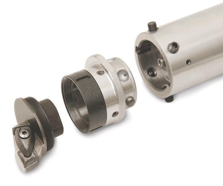 山高针对大直径加工提供了新型 Steadyline® 刀柄系统