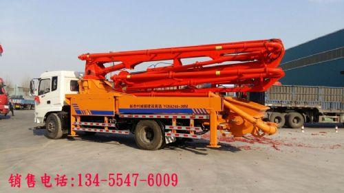 30米混凝土臂架泵车技术参数