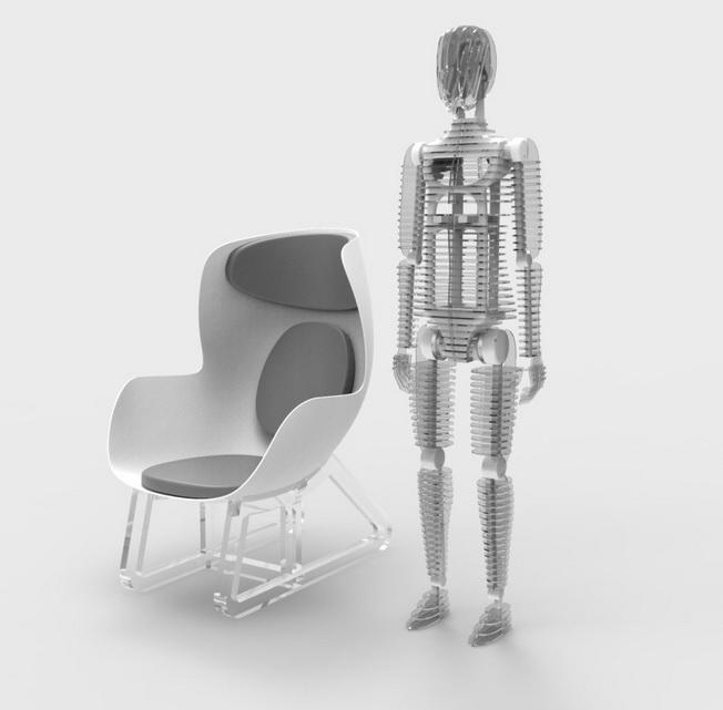 THK将在CES 2018中展示可显示人体健康状态及周边环境信息的类人传感器和智能传感椅
