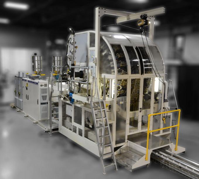 美国格雷汉姆工程公司为中国大陆加工厂商制造首套转轮式挤出吹塑系统并投入使用