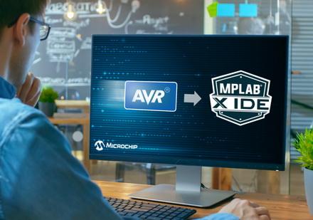 MPLAB® X集成开发环境现已支持AVR®单片机