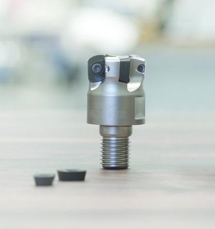 山高全新的、更大尺寸的高进给铣削刀片显著提高生产率