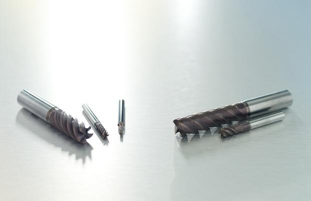 山高全新的立铣刀材质等级经久耐用,攻克难加工材料