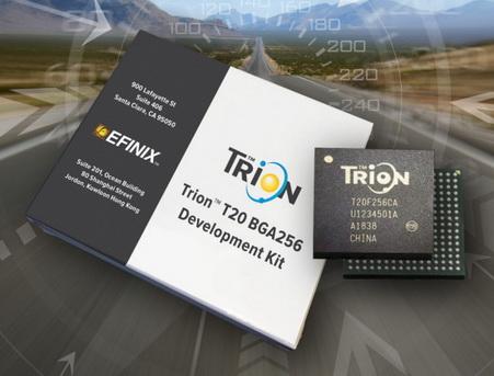 Efinix® 全力驱动AI边缘计算,成功推出Trion™ T20 FPGA样品