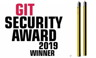 德国劳易测电子Leuze Electronic安全光幕MLC 530 SPG荣获2019 GIT Security Award