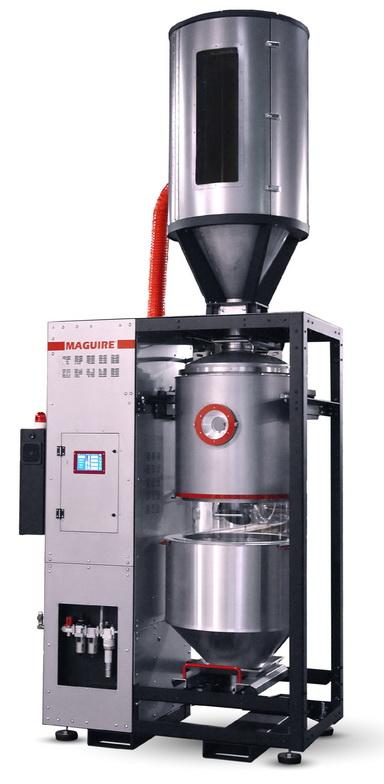 凭借新款 600 磅/小时机型,美锴生产的真空干燥机产能范围现已扩展至 30 到 1,000 磅/小时