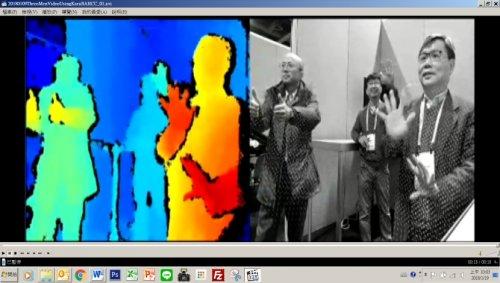 华晶科3D感测深度芯片CES亮相 搭上未来大趋势