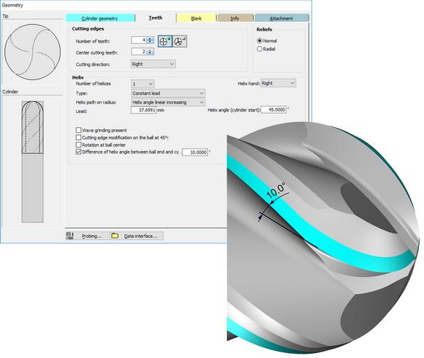 NUM发布新版主流NUMROTO刀具磨削软件