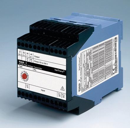 来自Knick的P 43000 TRMS变送器用于高达5A交流的真有效值测量