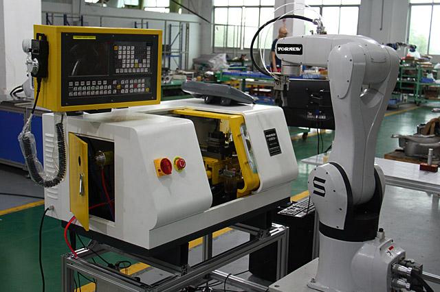 利用小型数控机床组建智慧工厂模型