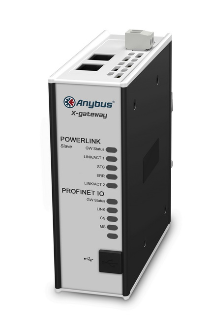 HMS的Anybus X-gateways提供Ethernet POWERLINK连接