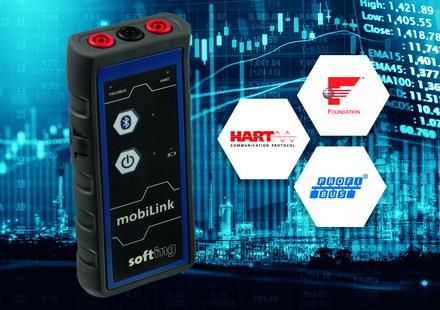Softing推出手持式配置接口,可用于多种协议的现场设备