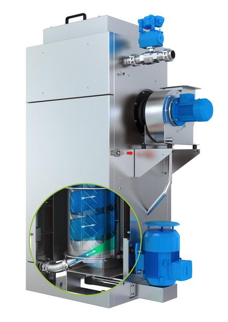 诺信 BKG® 颗粒干燥机可降低由玻璃纤维填充材料和其他磨蚀性化合物造成的磨损成本