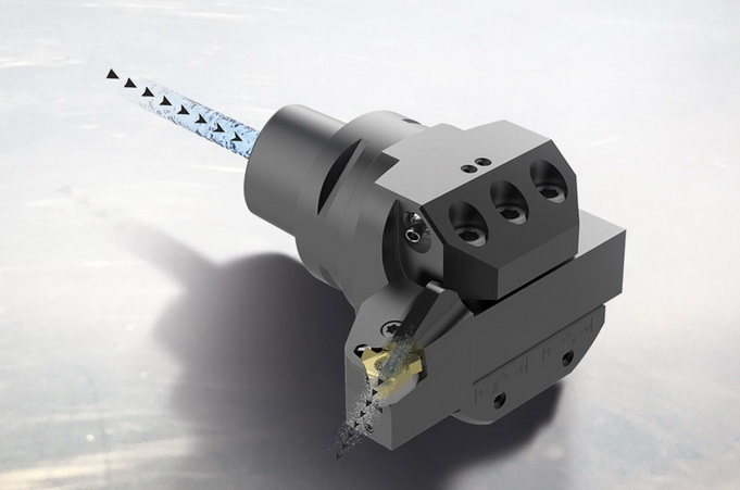 山高全新 Jetstream Tooling® 螺纹车削刀柄和转接头尽显高压冷却液的优点