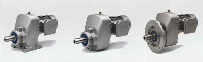 诺德推出新型NORDBLOC.1单级伞齿轮减速电机