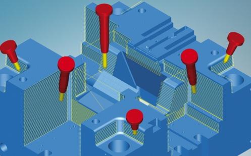 OPEN MIND 在 DMC 2018 展现模具精加工新策略hyperMILL® MAXX Machining