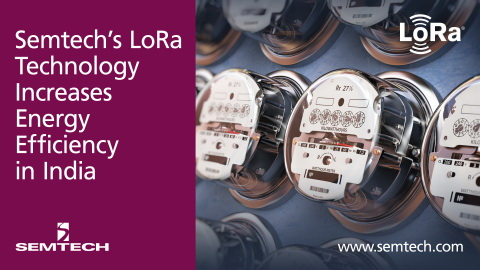 Semtech的LoRa技术力助印度提高能效