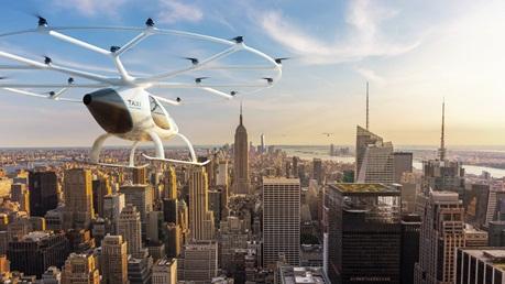 PTC PLM将支持Volocopter开发自动驾驶空中出租车