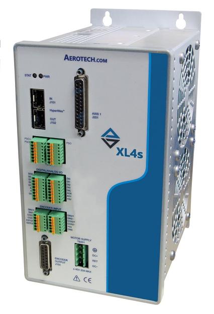 Aerotech用于声音线圈和单相电机的192 kHz伺服速率闭环伺服控制器