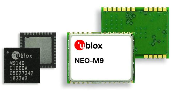 u-blox最新的公尺级定位技术提供增强的GNSS效能