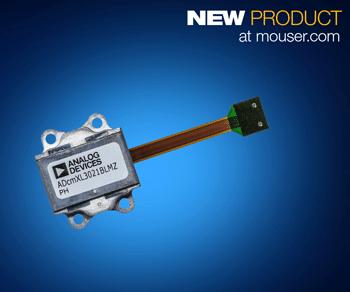 适用于条件式监控的 Analog Devices ADcmXL3021三轴振动传感器