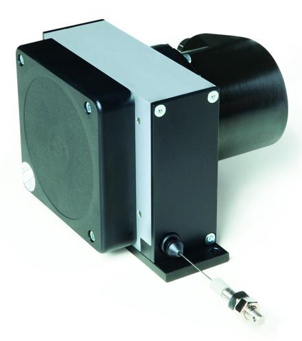 12米测量长度的新款拉线编码器SIKO SG121 -- 坚固、小巧、灵活