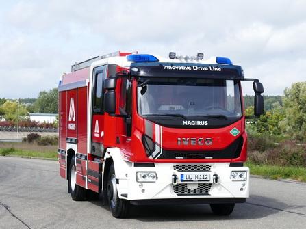 FPT INDUSTRIAL助力全球首台天然气动力消防车