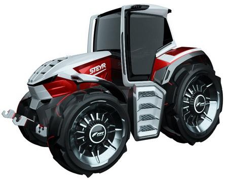 斯太尔和FPT INDUSTRIAL共同打造新型混合动力拖拉机概念
