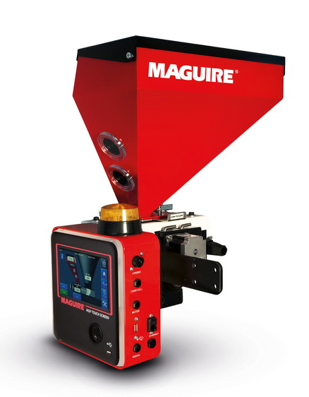 Maguire 的 MGF™ 喂料机可确保色母更均匀地分散,防止预混合和过度着色