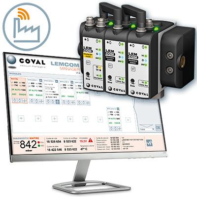 COVAL(库沃)的LEMCOM Manager让真空管理变得更简单