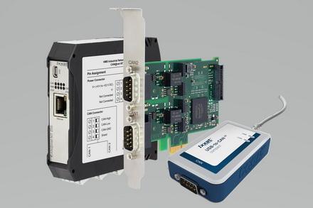 CODESYS支持Ixxat PC/CAN接口