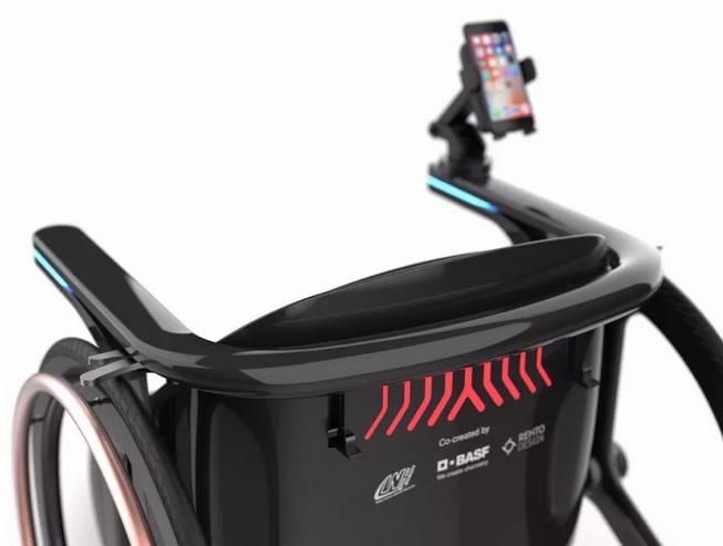 巴斯夫推出Ren Chair概念轮椅,为使用者带来更具活力的生活方式