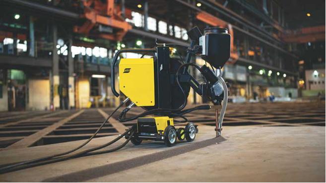 伊萨全新VERSOTRAC EWT 1000焊接小车问世