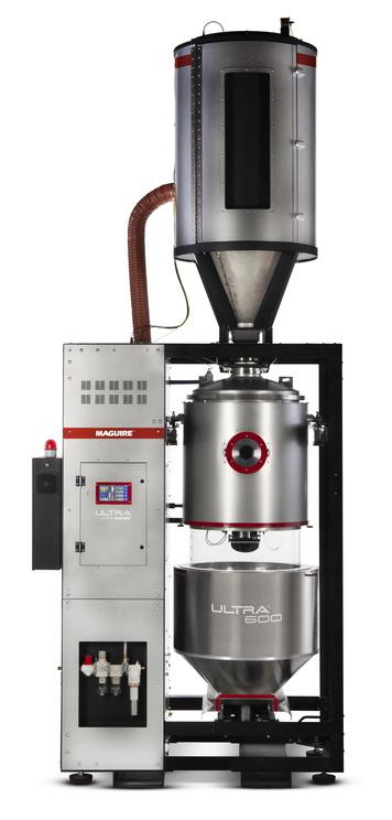 """美锴为其独特的""""ULTRA®""""真空树脂干燥机更名以彰显其远低于其他干燥机的能耗"""