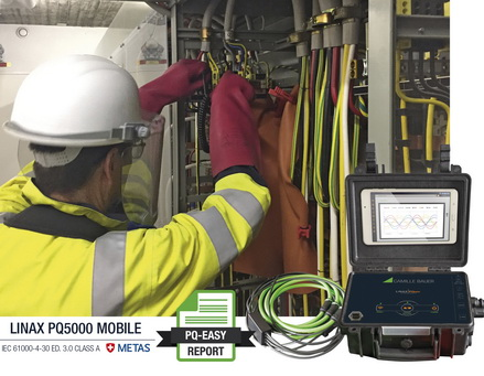 LINAX PQ5000-Mobile - 全新的计量认证交流电分析