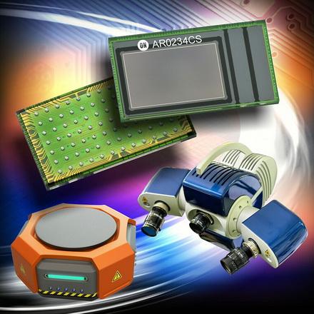 安森美半导体推出高性能CMOS全局快门图像传感器用于机器视觉和混合实境应用