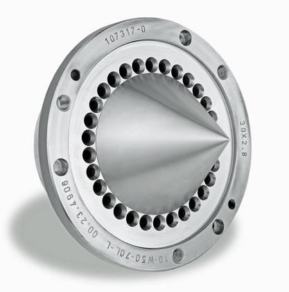 诺信专用模板生产线大大缩短水下造粒机用标准模板的交货时间