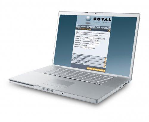 Coval的Energy Saving App软件可用于测量能耗节约