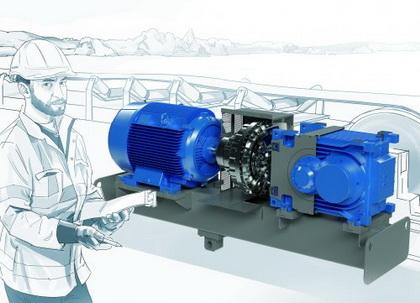 诺德推出全新MAXXDRIVE®XT工业齿轮箱 -- 适用于强力输送带的强大传动装置