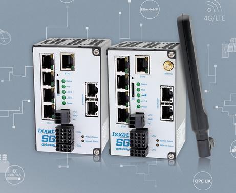 支持LTE适用于IEC 61850和IEC 60870的新型Ixxat智能电网网关