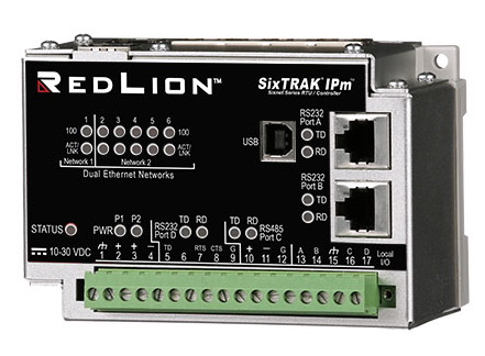 红狮控制SixTRAK®工业RTU产品线再添新锐