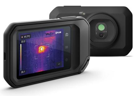 菲力尔推出新款FLIR C3-X口袋热像仪,性能提升,应用更广泛
