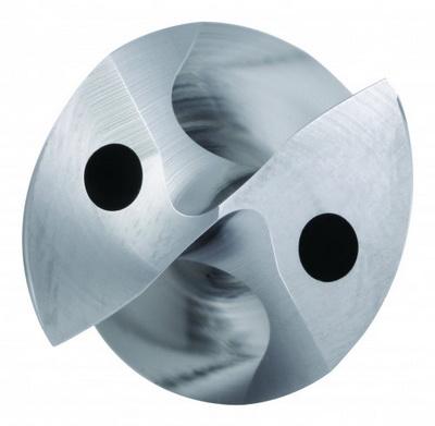 可靠的性能:具备SGL钻尖形式的新型硬质合金钻头
