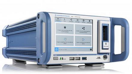 R&S IQW100宽带I/Q数据记录仪可满足从外场到实验室测试需求的中端仪表