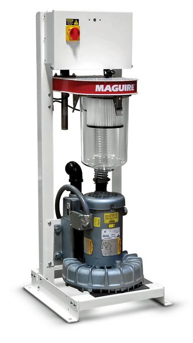 美锴新型真空泵简化了输送原料到混料机、干燥机或机器料斗的输送