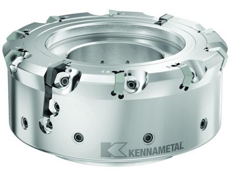 肯纳金属推出用于铸铁加工应用的KCFM™ 45系列铣削产品