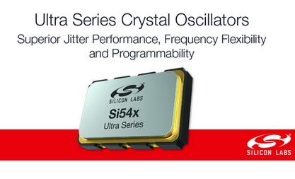 Silicon Labs发布时钟行业超小尺寸、超低抖动的I2C可编程晶体振荡器